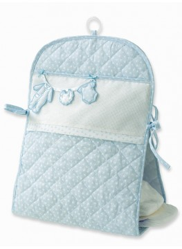Hanging diaper case