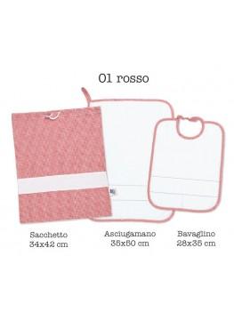 Set Asilo - 01 rosso