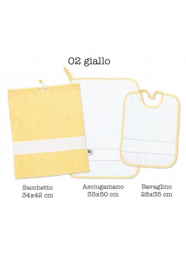 Set Asilo - 02 giallo